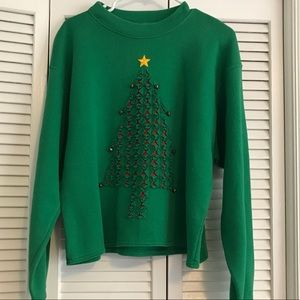 🌲 Christmas Tree🎄 sweatshirt! Size XL